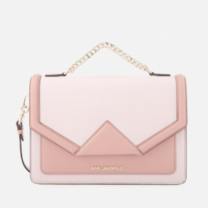 Karl Lagerfeld Women's K/Klassik Shoulder Bag - Pale Rose