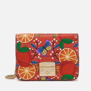 Furla Women's Metropolis Small Cross Body Bag - Oranges