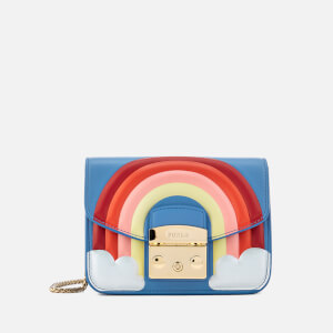 Furla Women's Metropolis Fantasia Mini Cross Body Bag - Rainbow