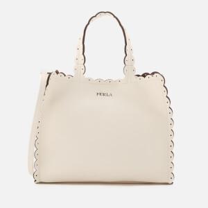 Furla Women's Merletto Small Tote Bag - White