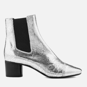 Isabel Marant Women's Danelya Heeled Chelsea Boots - Silver