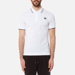 McQ Alexander McQueen Men's McQ Polo Shirt - White/Black