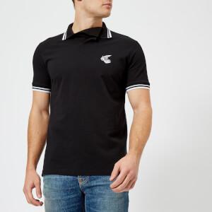 Vivienne Westwood Anglomania Men's Pique Polo Shirt - Black