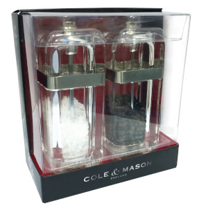 Cole and Mason Kempton Salt and Pepper Mill Gift Set