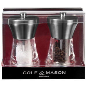 Cole and Mason Chester Salt and Pepper Mill Gift Set
