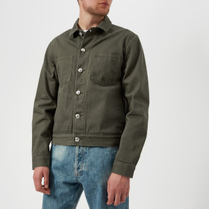 A.P.C. Men's Blouson Career Jacket - Khaki