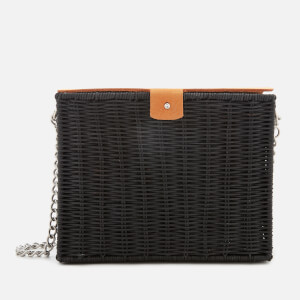 Wicker Wings Women's Studded Kuang Bag - Yellow/Black