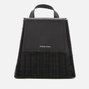 Wicker Wings Women's Tall Tixing Wicker Backpack - Black/Black