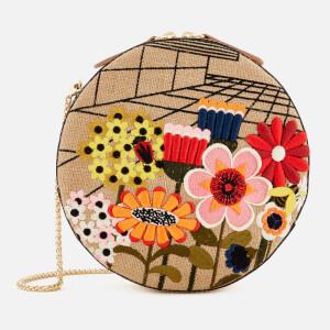 Orla Kiely Women's Embroidery Bobby Bag - Natural