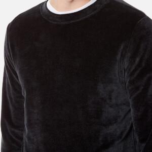 A.P.C. Men's Jeremie Sweatshirt - Faux Noir: Image 4