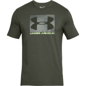 Under Armour Men's Boxed Sportstyle T-Shirt - Green