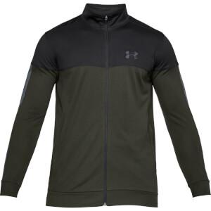 Under Armour Men's Sportstyle Pique Jacket - Green