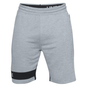 Under Armour Men's MK1 Terry Shorts - Grey
