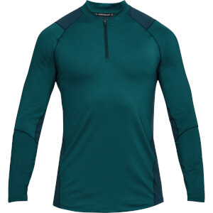 Under Armour Men's MK1 1/4 Zip Long Sleeved Top - Green