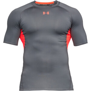 Under Armour Men's HeatGear Armour T-Shirt - Grey