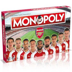 Monopoly Board Game - Arsenal F.C 17/18 Edition