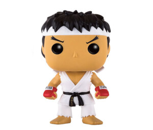 Street Fighter Ryu White Headband EXC Pop! Vinyl Figure