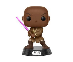 Star Wars Mace Windu EXC Pop! Vinyl Bobble Head Figure