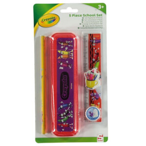 Crayola 5 Piece School Set