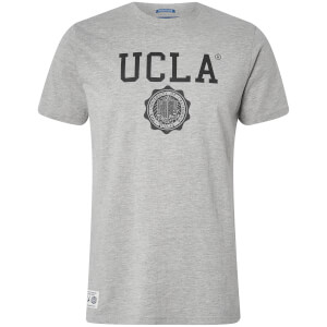 T-Shirt Homme Logo Powell UCLA - Clair Gris Chiné