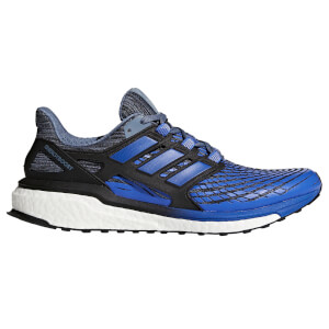 adidas Men's Energy Boost Running Shoes - Steel/Blue