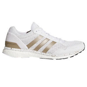 adidas Men's Adizero Adios Running Shoes - White/Black