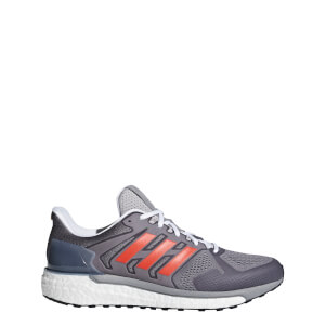 adidas Supernova ST Aktiv Running Shoes - Grey/Red