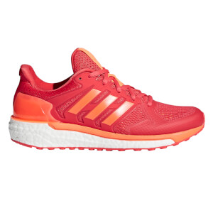 adidas Women's Supernova ST Running Shoes - Coral/Orange/Red