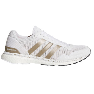adidas Women's Adizero Adios Running Shoes - White/Black