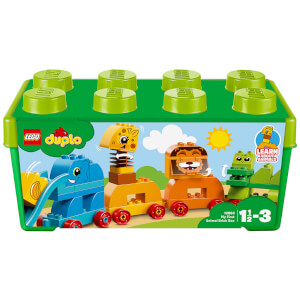 LEGO DUPLO My First: Animal Brick Box Storage Set (10863)