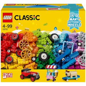 LEGO Classic: Bricks on a Roll Construction Set (10715)