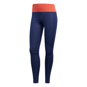 adidas Women's Supernova TKO Running Tights - Indigo/Scarlet