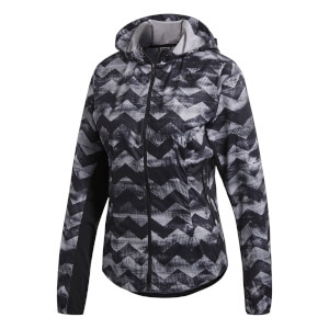 adidas Women's Adizero Track Jacket - Black/White