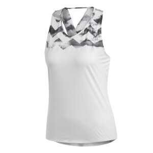 adidas Women's Adizero Running Tank Top - White/Black