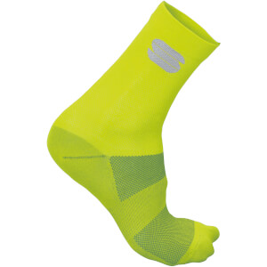 Sportful Ride 15 Socks - Yellow Fluo