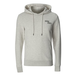 Jack & Jones Men's Core Cell Hoody - White Marl