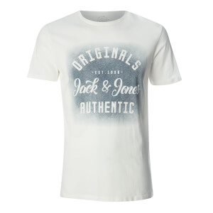 Jack & Jones Men's Originals Reji T-Shirt - Cloud Dancer