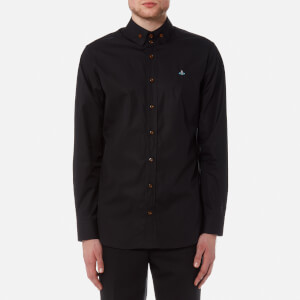 Vivienne Westwood MAN Men's Firm Poplin Krall Shirt - Black