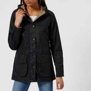 Barbour Heritage Women's Lightweight Durham Jacket - Royal Navy
