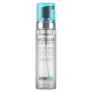 MineTan Micellar Water Pre-Shower Foaming Self Tan