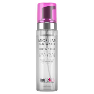 MineTan Micellar Water Everyday Glow Gradual Self Tanner