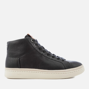 UGG Men's Cali Lace High Top Trainers - Black