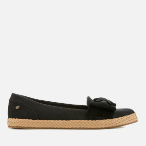 UGG Women's Abigail Bow Top Espadrilles - Black