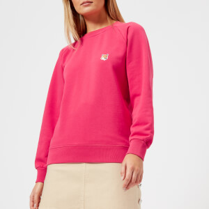 Maison Kitsuné Women's Fox Head Patch Sweatshirt - Fuchsia