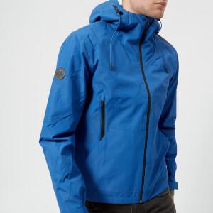 Superdry Men's Hooded Elite Windcheater Jacket - Electric Blue