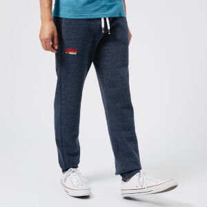 Superdry Men's Orange Label Cali Joggers - Bass Blue Grindle