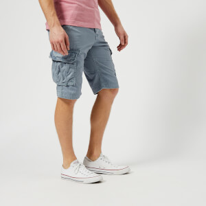 Superdry Men's Core Cargo Lite Shorts - Cloud Blue