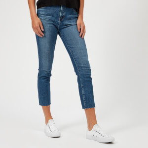 J Brand Women's Ruby High Rise Crop Jeans - Lovesick