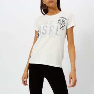 Polo Ralph Lauren Women's Patchwork T-Shirt - White