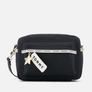 Tommy Hilfiger Women's Logo Tape Crossover Bag - Navy